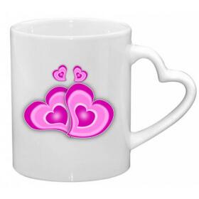 Mug coeur - Em création