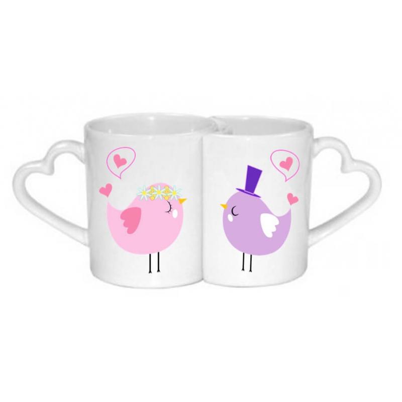 Mug couple - idée cadeau mariage - Em création