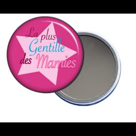 miroir de poche pour mamie en vente sur em-creation.fr - Em création