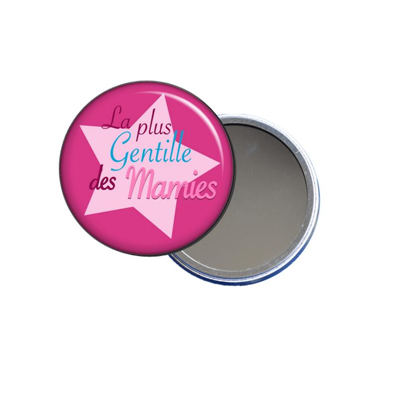 miroir de poche pour mamie en vente sur em-creation.fr