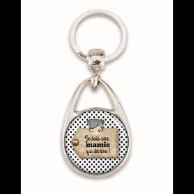 Porte clés pour mamie - Idée cadeau mamie - Em création - Em création