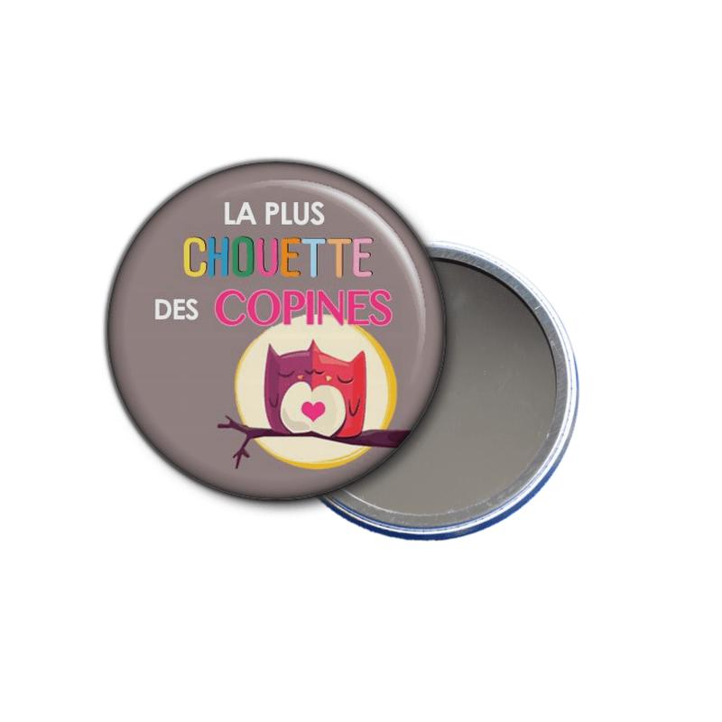 idée cadeau - miroir de poche la plus chouette des copines à offrir - toutes les idées cadeaux sont sur em-creation.fr