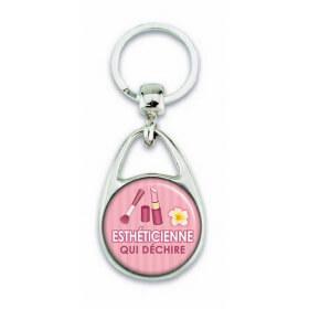 Porte clés esthéticienne - Em creation - Em création