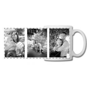 Mug photo personnalisé avec 3 photo - Em création