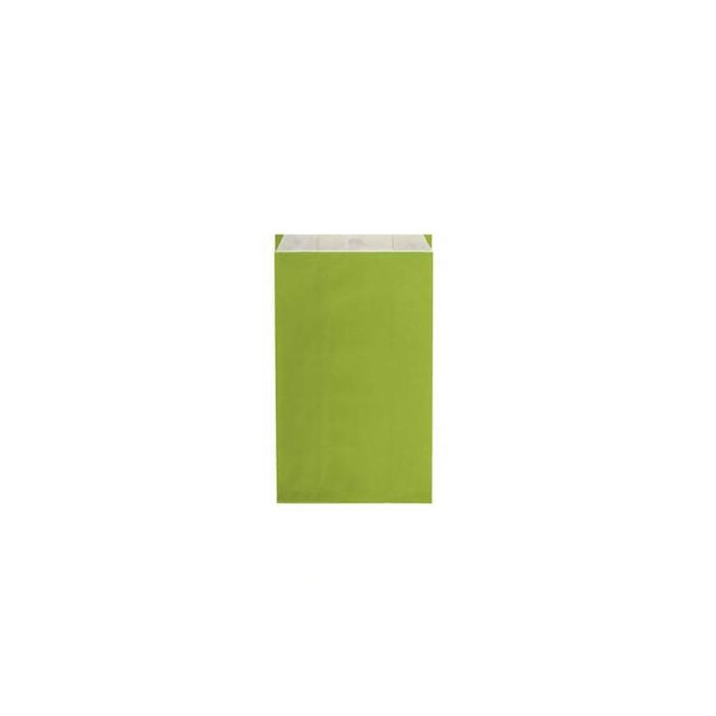 250 Pochettes cadeau KRAFT - 7 x12 cm vert