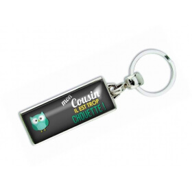 Porte clés 'Mon cousin il est trop chouette' - Em creation - Em création