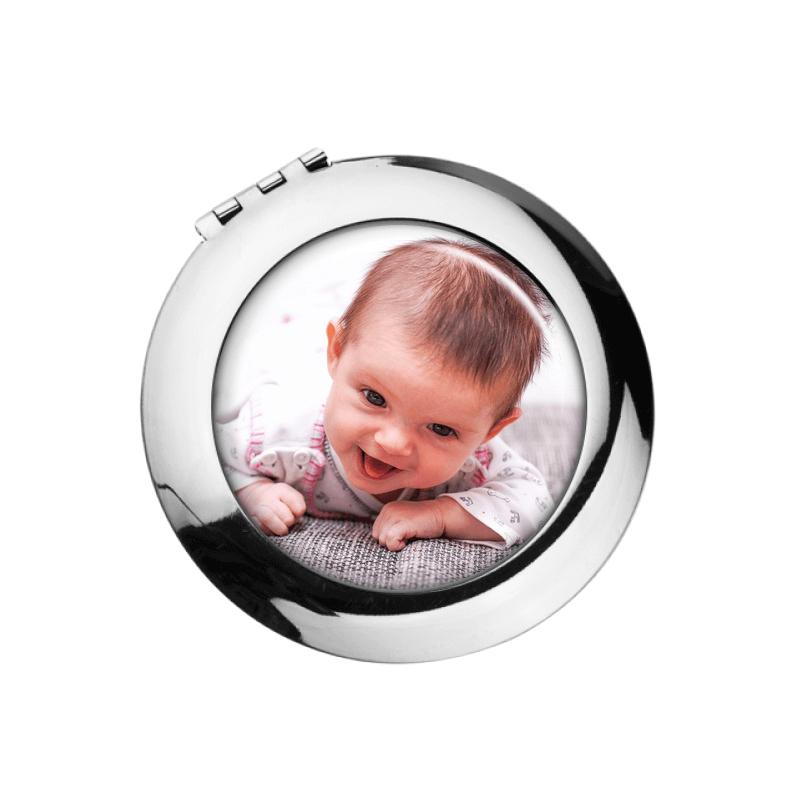 Miroir de poche personnalisable - Em création
