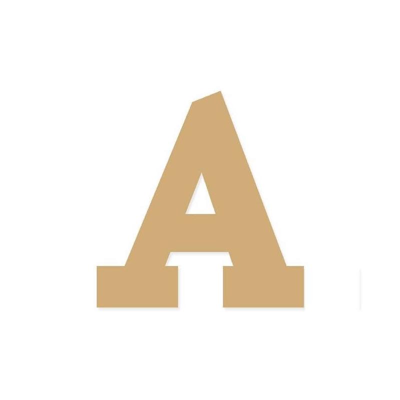 Lettres déco à peindre A