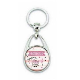 Porte clés pour une chouette maîtresse