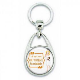 Porte clés 'je suis une aide soignante formidable' - Em création