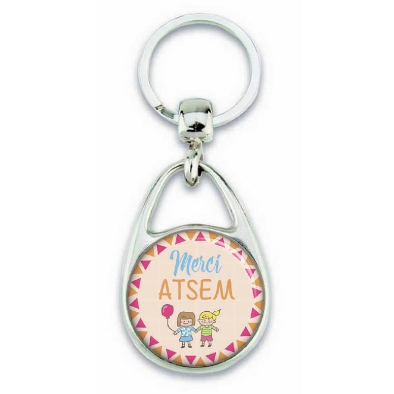 Porte clés pour dire merci Atsem - Em création