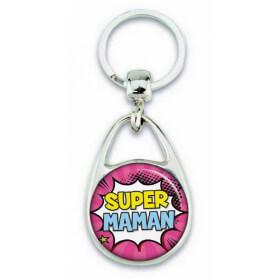 Porte clés super maman comics - Em création - Em création