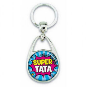Porte clés super Tata comics