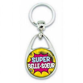 Porte clés super belle-soeur comics - Em création