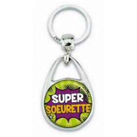 Porte clés super soeurette comics - Em création