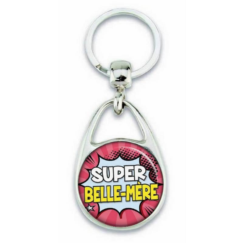 Porte clés super belle mère comics - Em création