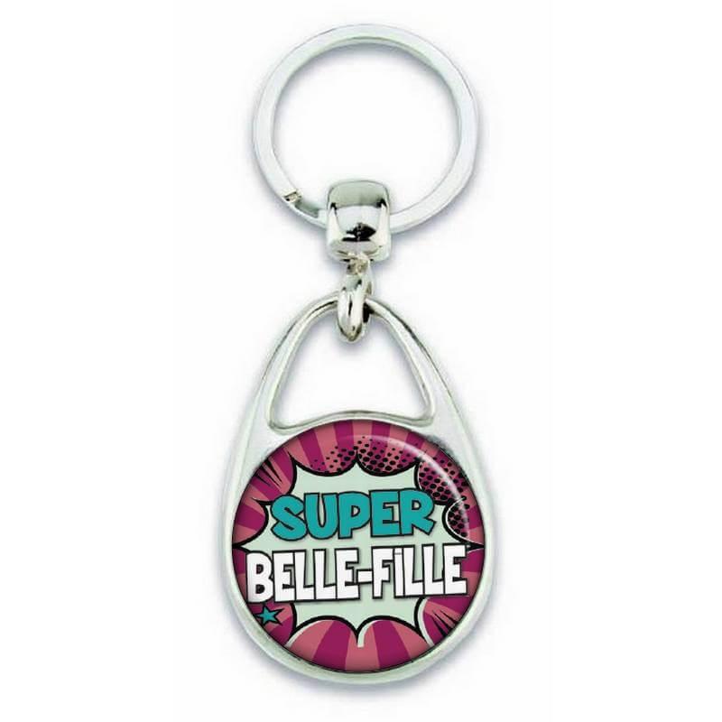 Porte clés super belle fille comics - Em création