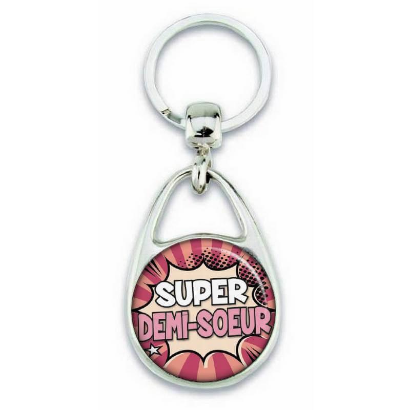 Porte clés super demi soeur comics - Em création