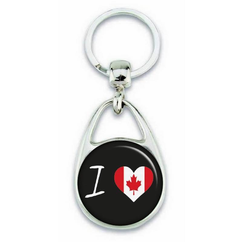 Porte clés ' J'aime le Canada ' - Em création