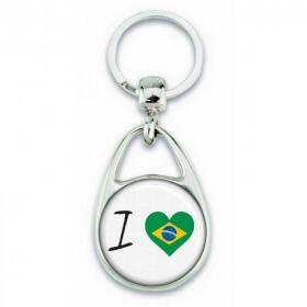 Porte clés ' J'aime le Brésil ' - Em création - Em création