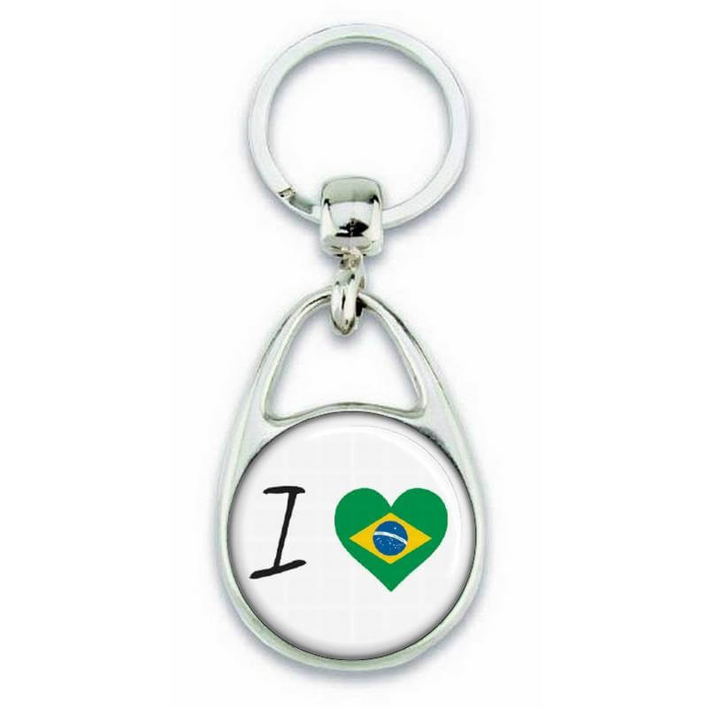 Porte clés ' J'aime le Brésil ' - Em création