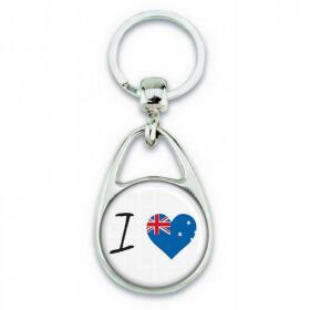 Porte clés ' J'aime l'Australie ' - Em création - Em création