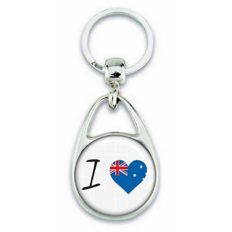 Porte clés ' J'aime l'Australie ' - Em création