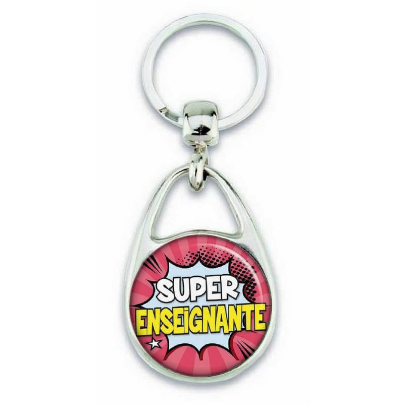 Porte clés Super enseignante - Em création