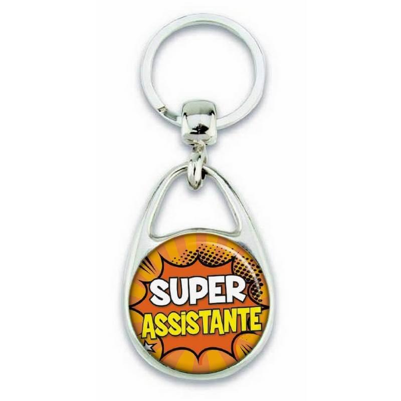"""Porte clés """"Super assistante"""" - Em création"""