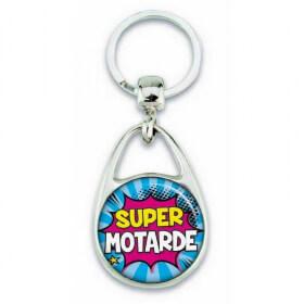 "Porte clés ""Super motarde"" - Em création - Em création"