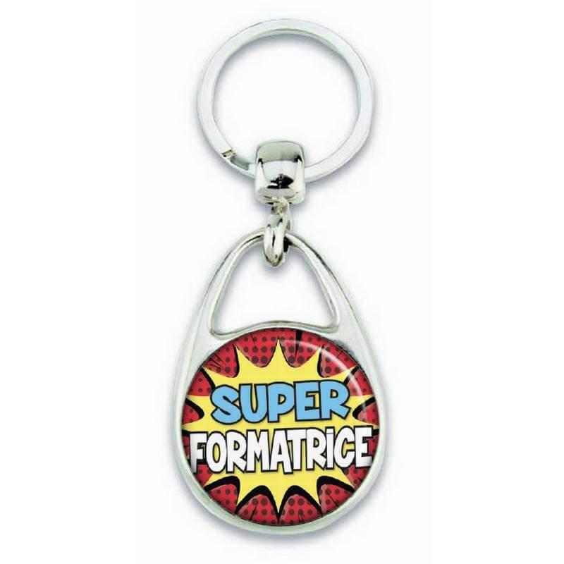 """Porte clés """"Super formatrice"""" - Em création"""