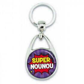 """Porte clés """"Super nounou"""" - Em création"""