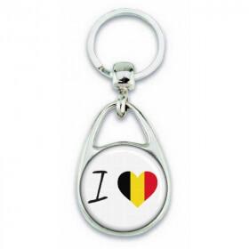 porte clés j'aime l'Allemagne - Em création - Em création