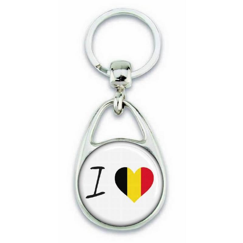 porte clés j'aime l'Allemagne - Em création