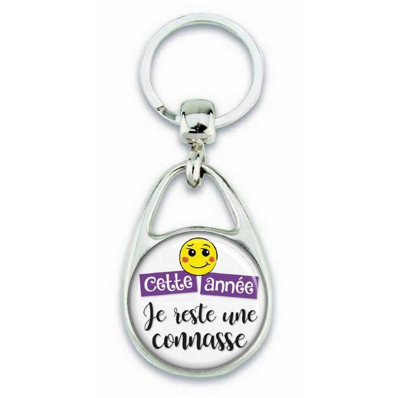"""Porte clés """"Cette année je reste une connasse"""" - Em création"""