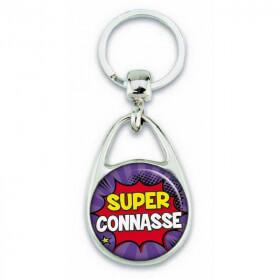"""Porte clés """"Super connasse"""" comics - Em création - Em création"""