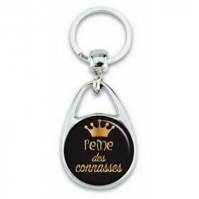 """Porte clés """"Reine des connasses"""" - Em création - Em création"""