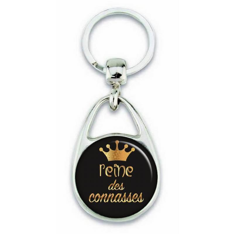 """Porte clés """"Reine des connasses"""" - Em création"""
