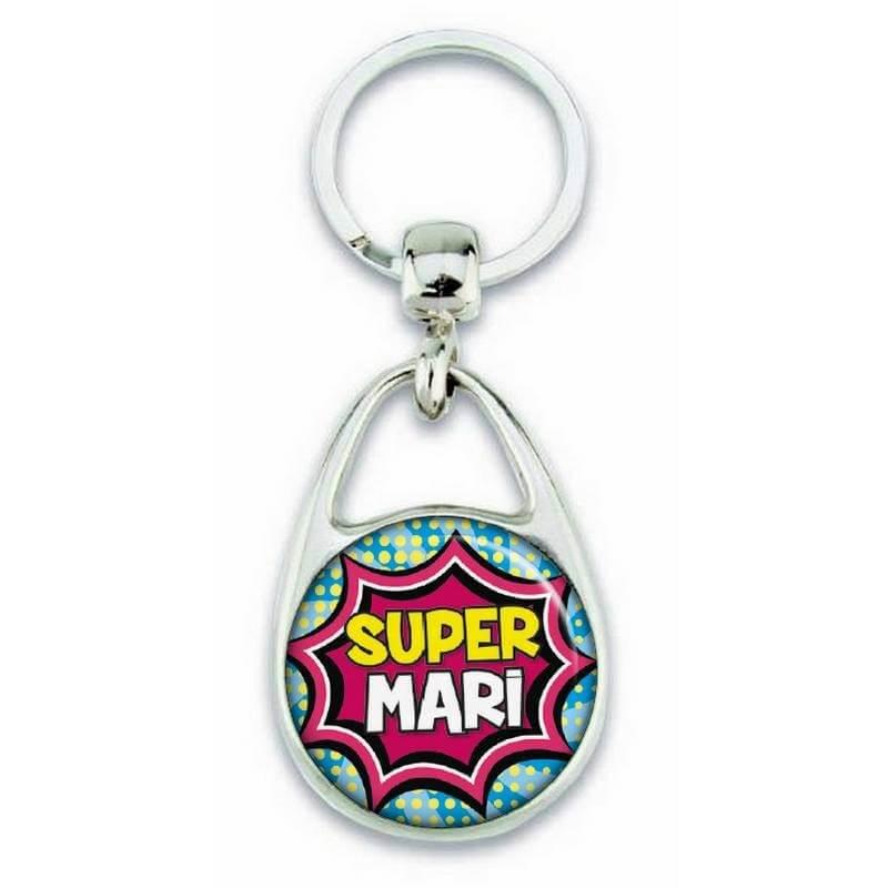 """Porte clés """"Super mari"""" comics - Em création"""