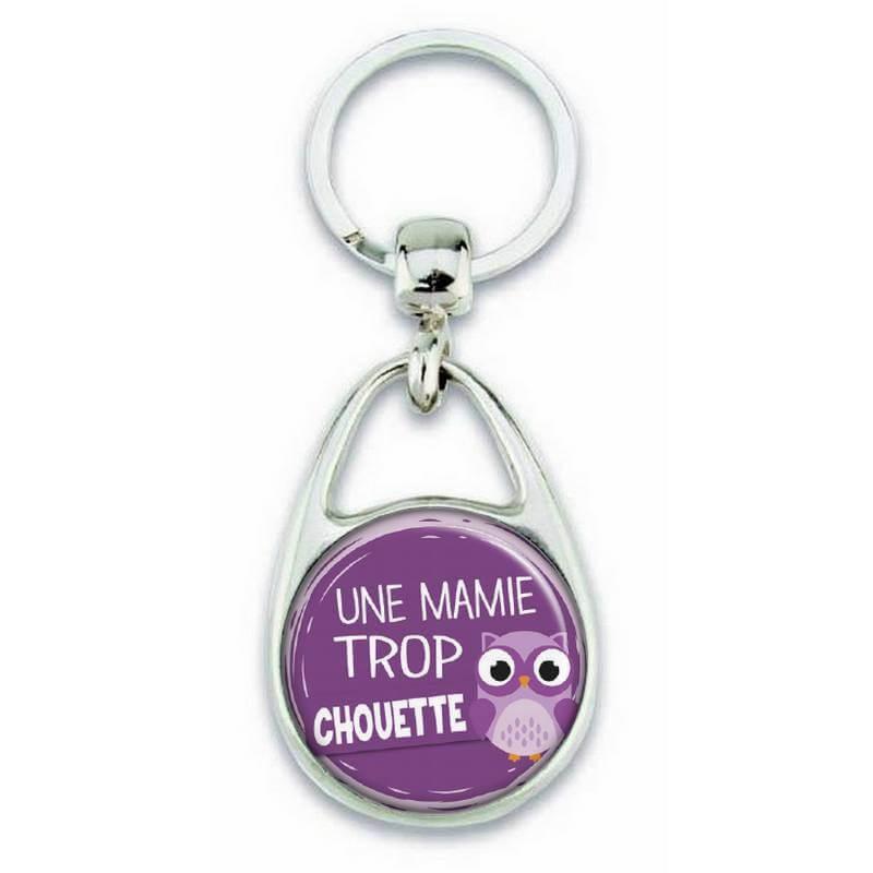 """Porte clés """"Une mamie trop chouette"""" - Em création"""