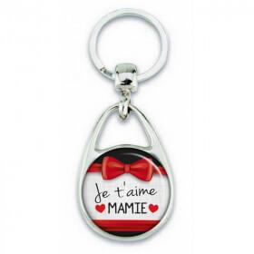 "Porte clés ""Je t'aime mamie"""