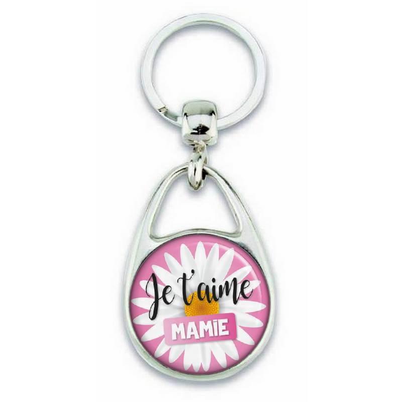 Porte clés pour dire Je t'aime mamie - Em création