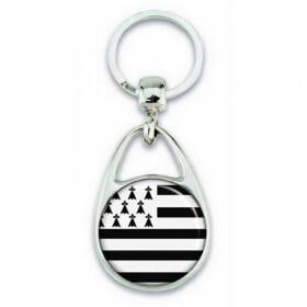 Porte clés drapeau de la bretagne - Em création - Em création