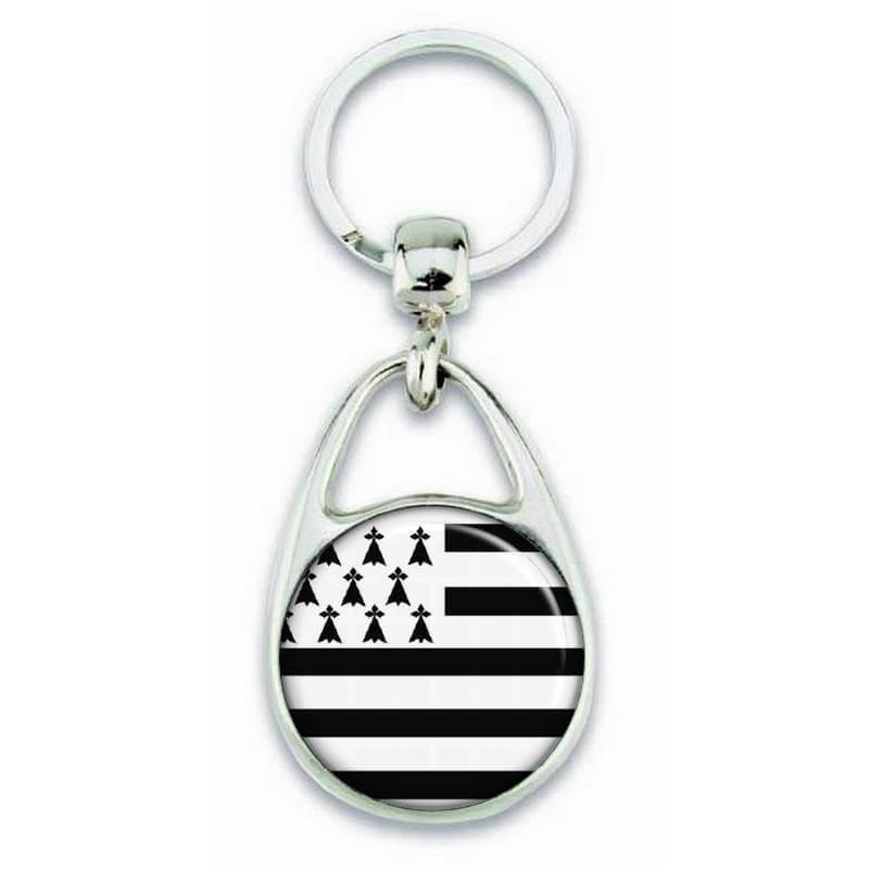 Porte clés drapeau de la bretagne - Em création