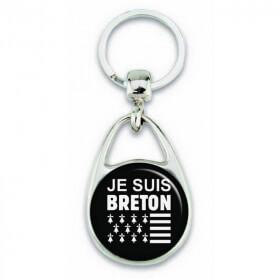 """Porte clés """"je suis breton"""" - Em création - Em création"""