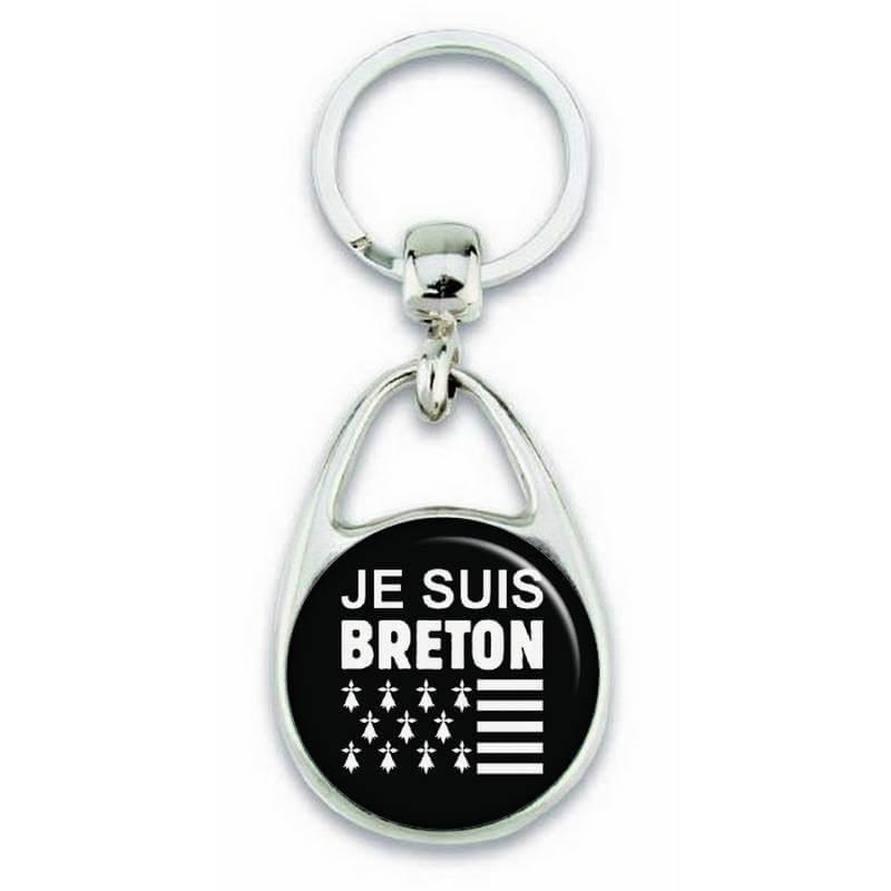 """Porte clés """"je suis breton"""" - Em création"""
