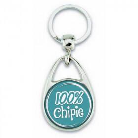 """Porte clés """"100% chipie"""" - Em création"""