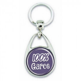 """Porte clés """"100% Garce"""" - Em création"""