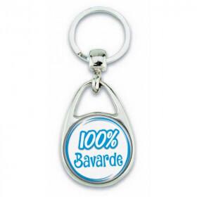"Porte clés ""100% Bavarde"" - Em création"