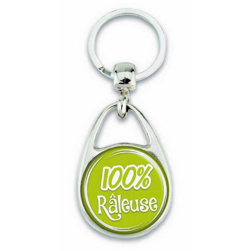 """Porte clés """"100% Râleuse"""" - Em création"""